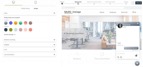 [Nueva funcionalidad] SALESmanago Live Chat se convierte en una solución Enterprise con una serie de funcionalidades avanza das basadas en inteligencia artificial y dedicadas a grandes negocios de eCommerce.