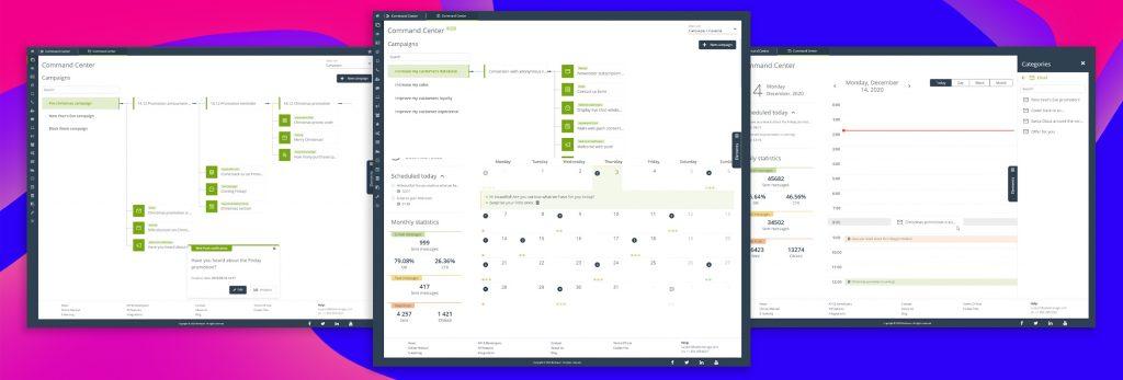 [NUEVA FUNCIONALIDAD ] Command Center establece un estándar nuevo de UI para la gestión de los procesos de marketing multicanal, multifuncional y multitarea orientados hacia los KPI.